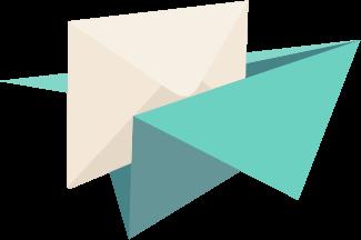 紙飛行機logo