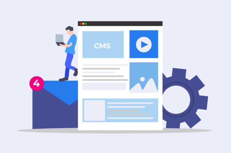 CMSを導入してWebサイトを構築している人
